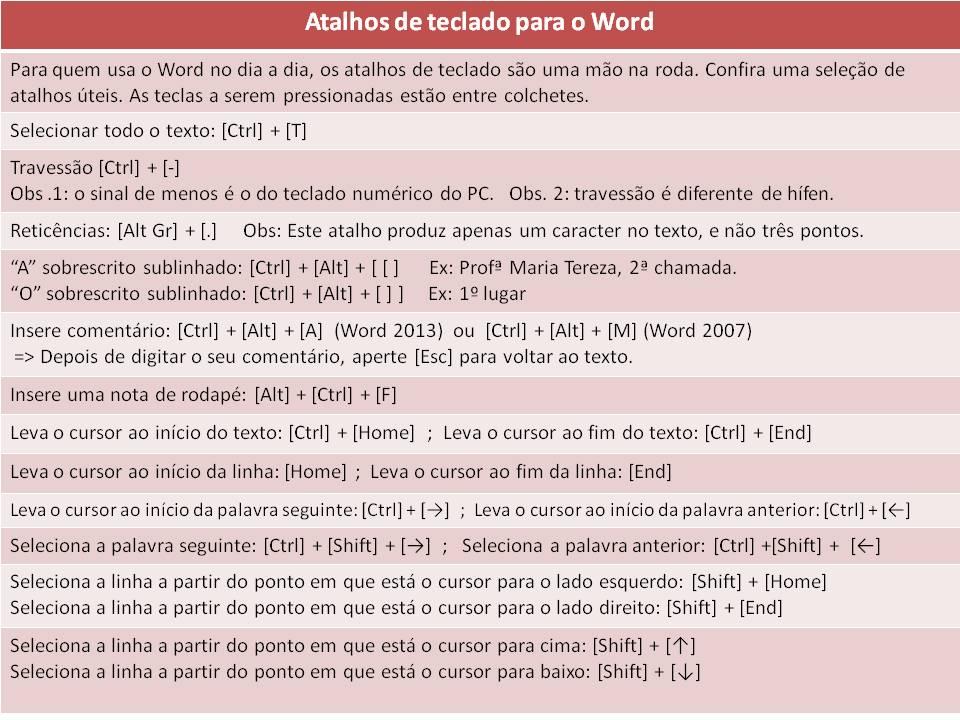43-ATALHOS-WORD