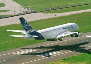 avião-aterrissagem