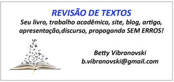 Revisão de Textos - Betty Vibranovski