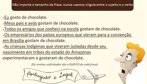 Vírgula Entre Sujeito E Predicado Blog Português Sem Mistério