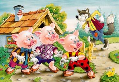 história-lobo-mau-e-os-três-porquinhos