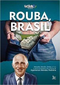 Livro Rouba Brasil