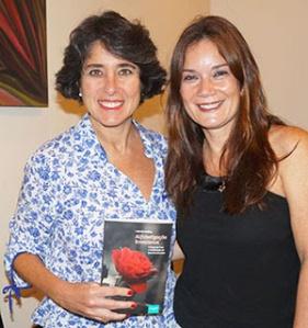 """Betty Vibranovski e Patricia Serfaty, autora do livro """"Alfabetização Emocional"""""""
