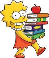 lisa-simpson-livros