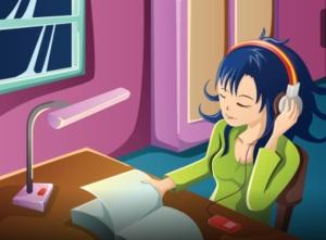 menina-lendo-ouvindo-musica