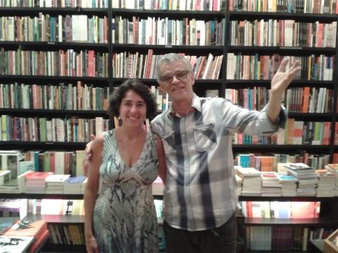 Betty Vibranovski e Luiz Guilherme de Beaurepaire