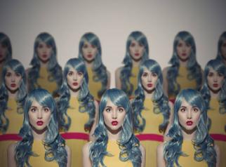 Repetição-mulheres-cabelo cinza
